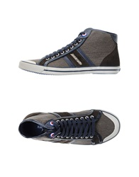 Lambretta High Tops And Trainers Dark Brown