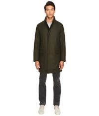 Vince Raw Edge Military Coat Military Green Men's Coat