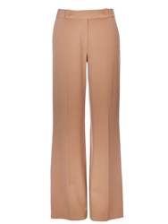 Wallis Camel Twill Wide Leg Trouser
