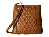 Vera Bradley Quilted Molly Crossbody Cognac Cross Body Handbags Tan