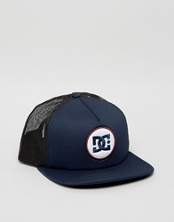Dc Pillfull Trucker Cap Blue