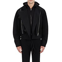 Hood By Air Men's Altitude Bomber Jacket Black