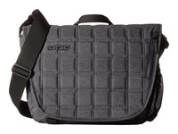 Ogio Newt Messenger Dark Static Messenger Bags Black