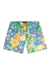 Etro Printed Swim Trunks Multicolor