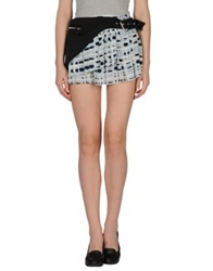 Uniqueness Mini Skirts Black