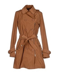 313 Tre Uno Tre Full Length Jackets Brown