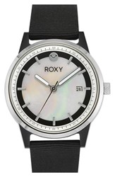 Women's Roxy 'The Abbey' Nylon Strap Watch 36Mm