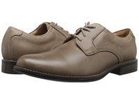 Dockers Kensington Taupe Distressed Burnished Full Grain Men's Lace Up Wing Tip Shoes Beige