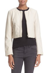 Veda Women's 'Dale' Crop Leather Jacket