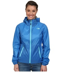 The North Face Cyclone Hoodie Clear Lake Blue Women's Coat