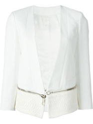 Neil Barrett Zip Away Cropped Blazer
