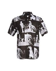 Stussy Shirts Shirts Men Black
