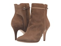 Corso Como Radiant Taupe Suede Leather Women's Shoes Bronze