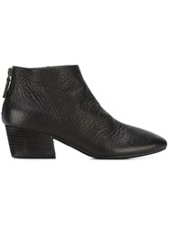 Marsell Square Toe Boots Black