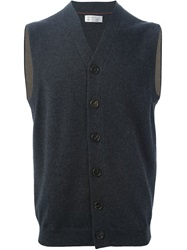 Brunello Cucinelli Knit Vest Grey