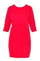 Maiocci Collection Shift Dress Red