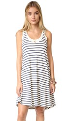 Splendid Sequoia Stripe Tank Dress Paper