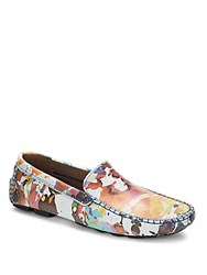Robert Graham Verrazano Leather Gerard Drivers Gerard Print