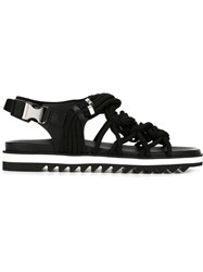 Dsquared2 Strappy Sandals Black