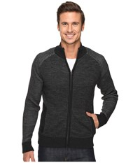 Smartwool Pioneer Ridge Full Zip Top Charcoal Heather Men's Sweater Gray