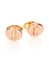Dunhill Ignition Cuff Links Rose Gold