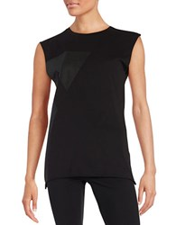 Y.A.S Sleeveless Shirt Black