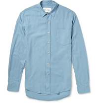 Our Legacy Silk Shirt Blue