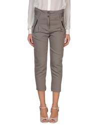 Adele Fado Trousers 3 4 Length Trousers Women Khaki