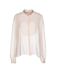 Axara Paris Shirts Light Pink