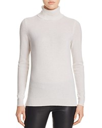 Bloomingdale's C By Cashmere Turtleneck Sweater Snow