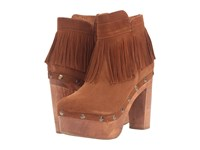 Cordani Tambra Honey Suede Women's Pull On Boots Brown