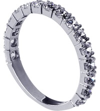 Carat Eternity Ring White