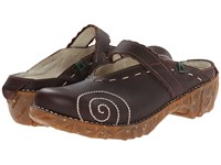 El Naturalista Yggdrasil N096 Brown Yggdrasil Women's Clog Shoes