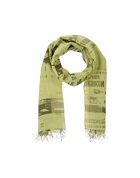 Epice Accessories Oblong Scarves Men Light Green