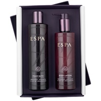Espa Bergamot And Jasmine Foam Bath And Lotion Set
