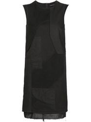 Alexandre Plokhov Patchwork Dress Black