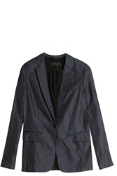 Rag And Bone Belmar Blazer Navy