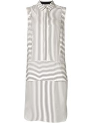 Rag And Bone Rag And Bone Sleeveless Shirt Dress White