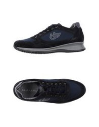 Blu Byblos Low Tops And Trainers Dark Blue