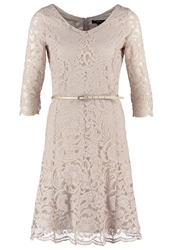 Comma Summer Dress Champagner Gold