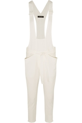 Isabel Marant Iana Linen And Cotton Blend Overalls
