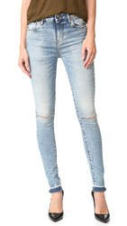 Iro.Jeans Esra Frayed Edge Jeans Bleached Blue