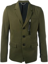 Diesel Black Gold 'Jitiry' Blazer Green