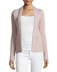 See By Chloe Ribbed Open Cardigan Rose Pink