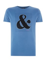 Duck And Cover A Score T Shirt Petrol