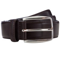 John Lewis Made In Italy Leather Belt Brown