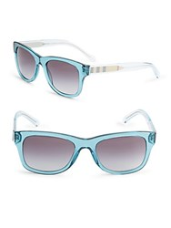 Burberry Wayfarer Sunglasses Blue