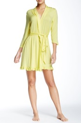 Fleurt Falling In Love Robe Yellow