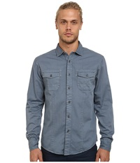 Mavi Jeans Folded Sleeve Shirt Moonlight Blue Men's Clothing