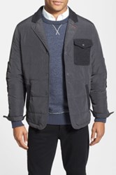 Jeremiah 'Traveler' Quilted Jacket Gray